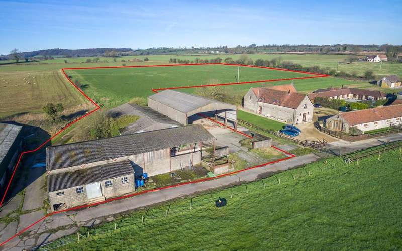 Plot Commercial for sale in Nr Doulting, plot for new house with 4 acres.