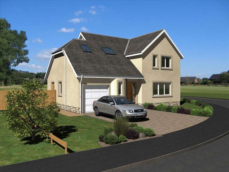 3 Bedrooms Detached House for sale in The Maxwell, East Broomlands, Kelso