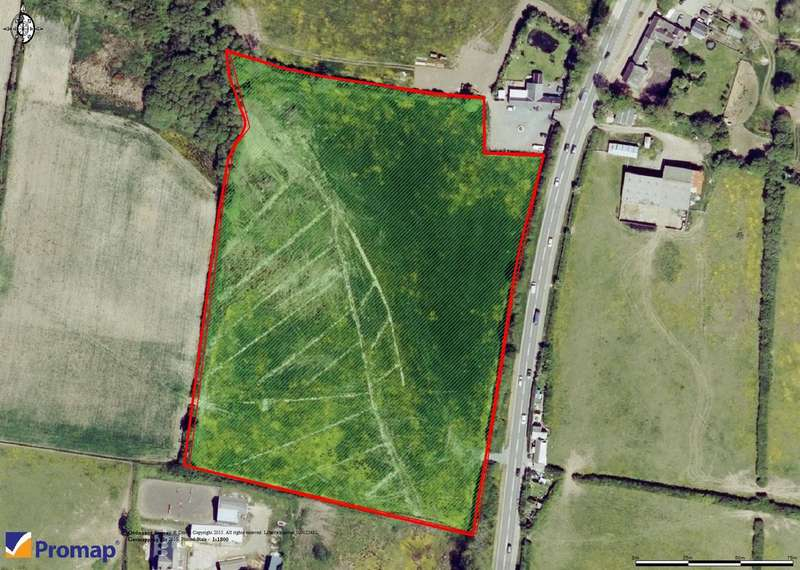 Land Commercial for sale in Land adjoining A4076 Johnston, Haverfordwest, SA62 3PB