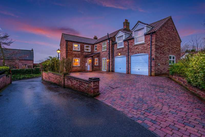 5 Bedrooms Detached House for sale in Ellerby Court, East Keal, Spilsby