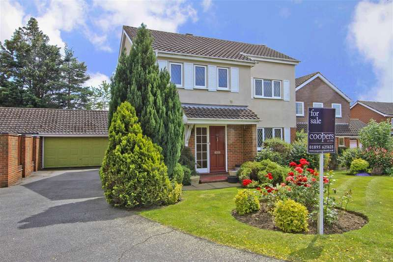 4 Bedrooms Link Detached House for sale in Courtlands Close, Ruislip, HA4