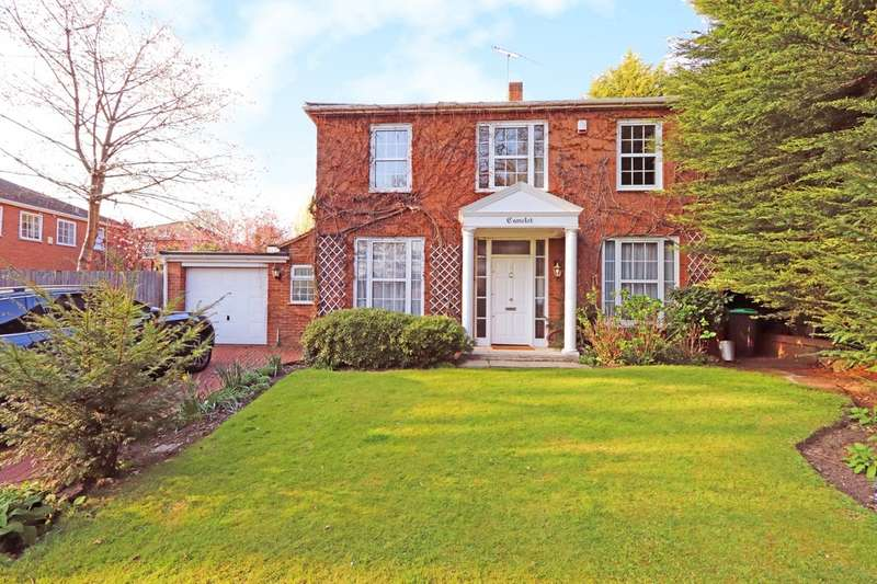 4 Bedrooms Detached House for sale in Coombe House Chase, New Malden