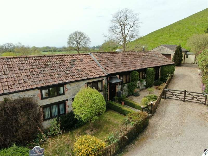 5 Bedrooms Barn Conversion Character Property for sale in Barrow Hill Barn, PANBOROUGH, Wells, Somerset