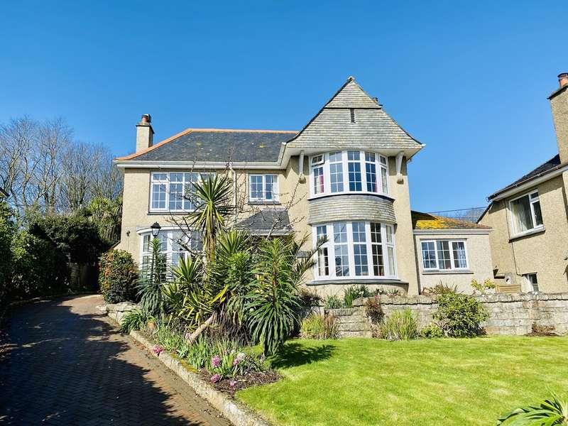 6 Bedrooms Detached House for sale in Lariggan Crescent, Penzance