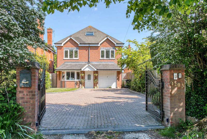 5 Bedrooms Detached House for sale in Evesham Road, Astwood Bank, Redditch, B96 6AB
