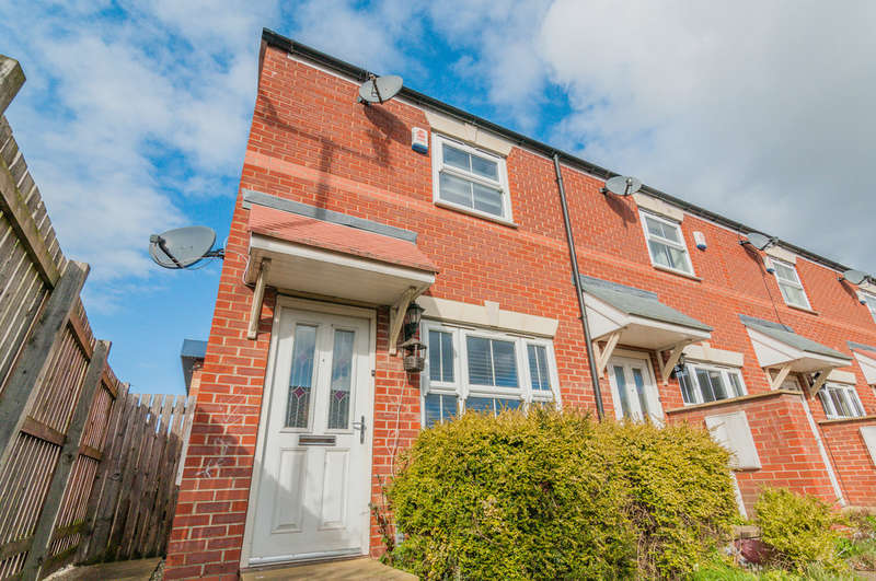 2 Bedrooms End Of Terrace House for sale in Stonegate Mews, Balby