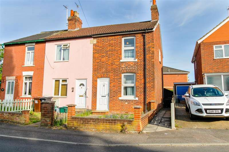 2 Bedrooms Semi Detached House for sale in Whitehall Close, Old Heath, Colchester CO2