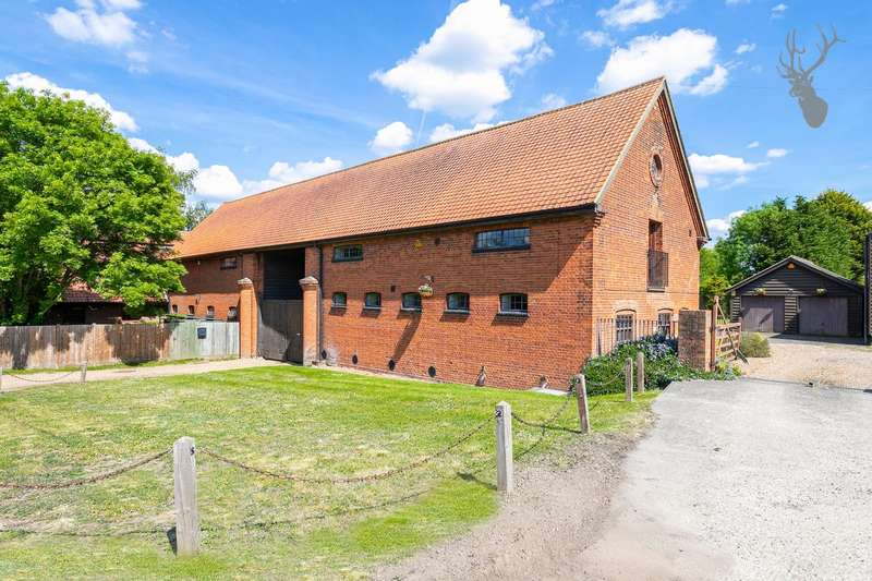 4 Bedrooms Link Detached House for sale in Bury Farm, Bury Lane, Epping