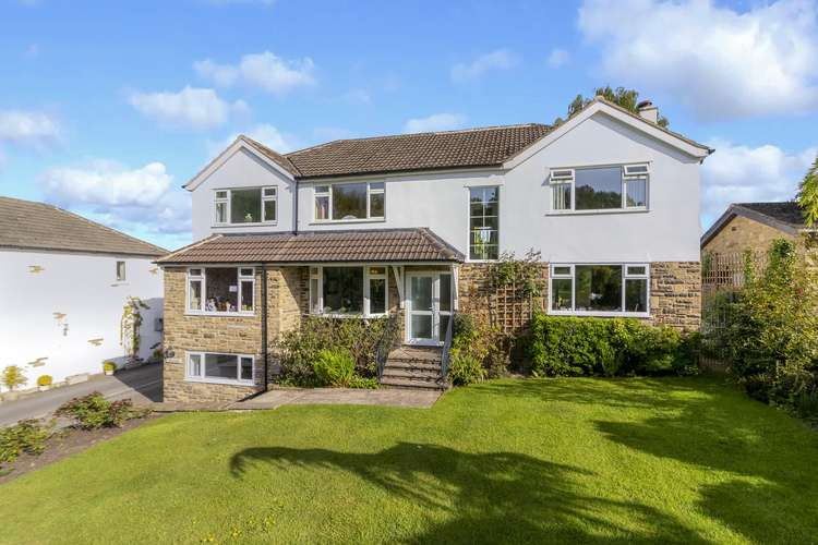 5 Bedrooms Detached House for sale in Crag Lane , Huby