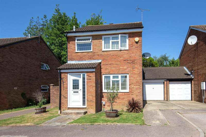 3 Bedrooms Detached House for sale in Conway Close, Houghton Regis, Bedfordshire