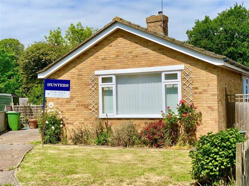 2 Bedrooms Detached Bungalow for sale in Willow Close, Hythe, CT21 6PR