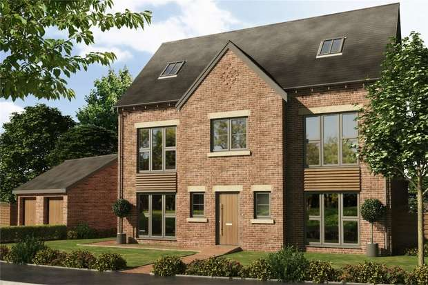 5 Bedrooms Detached House for sale in Plot 25 - The Desning, Thorpe Paddocks, Homes By Carlton, Thorpe Thewles, Stockton