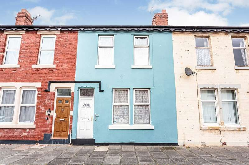 2 Bedrooms House for sale in Bagot Street, Blackpool, Lancashire, FY1