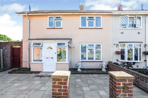 3 Bedrooms End Of Terrace House for sale in Cherry Lane, Crawley