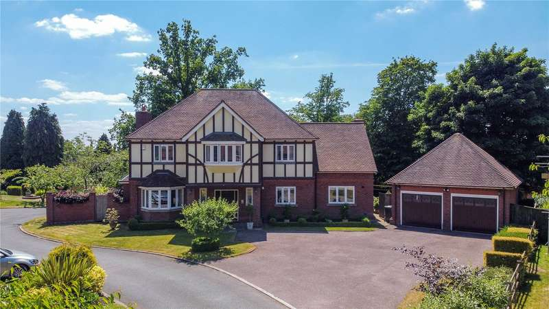 5 Bedrooms Detached House for sale in Lickey Grange Drive, Marlbrook, Bromsgrove, B60