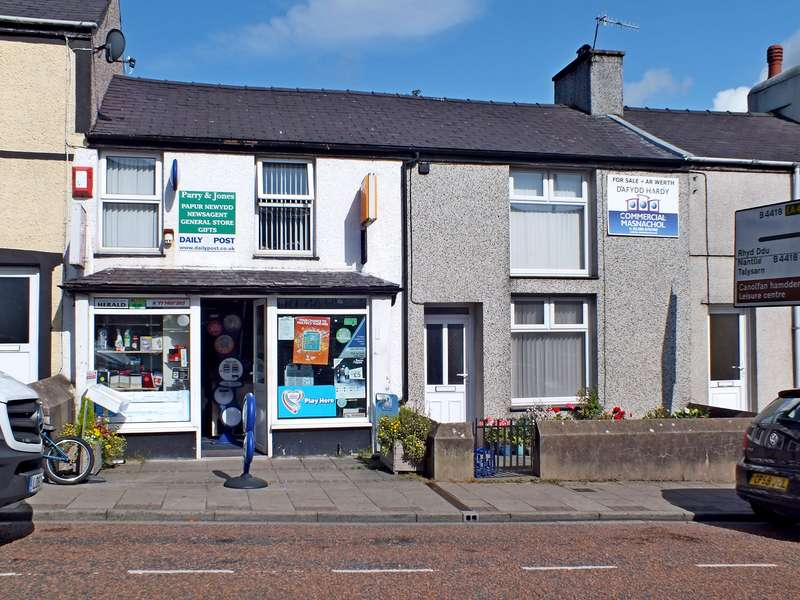 Retail Property (high Street) Commercial for sale in Water Street, Penygroes, Caernarfon, LL54