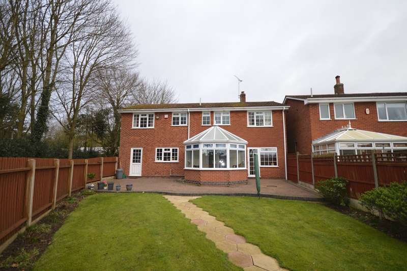 5 Bedrooms Detached House for sale in Hall Close, Blackfordby, Swadlincote, Leicestershire, DE11