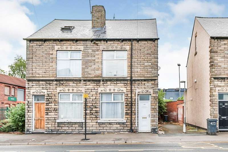 3 Bedrooms Semi Detached House for sale in Queens Road, Sheffield, S2