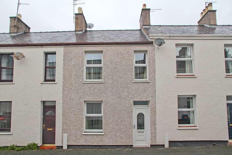 2 Bedrooms Terraced House for sale in Margaret Street, Caernarfon, Gwynedd, LL55