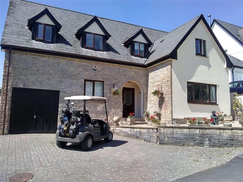 5 Bedrooms Detached House for sale in Fairways Drive, High Bickington, Umberleigh, Devon, EX37