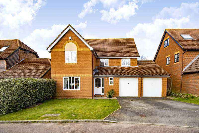 4 Bedrooms Detached House for sale in Norfolk Chase, Warfield, Bracknell, Berkshire, RG42