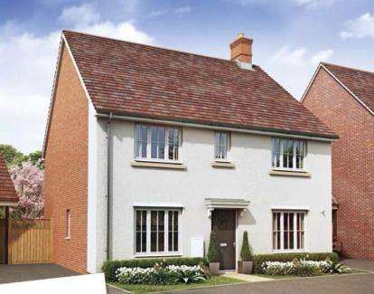 4 Bedrooms Detached House for sale in OAKBROOK San Andres Drive, Newton Leys, Bletchley, Milton Keynes