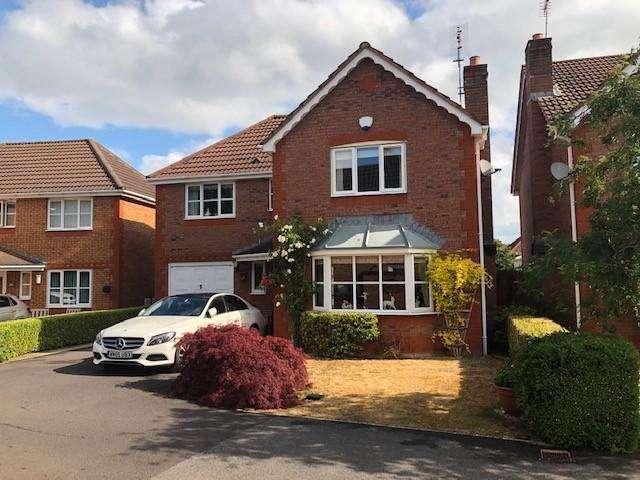 4 Bedrooms Detached House for sale in Heathfields, Downend, Bristol, BS16 6HS