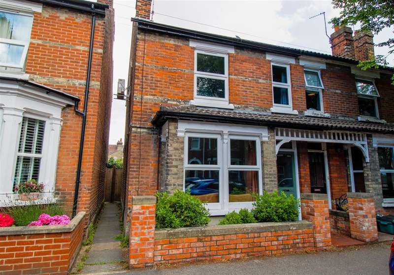3 Bedrooms Semi Detached House for sale in Harsnett Road, Newtown, Colchester, CO1