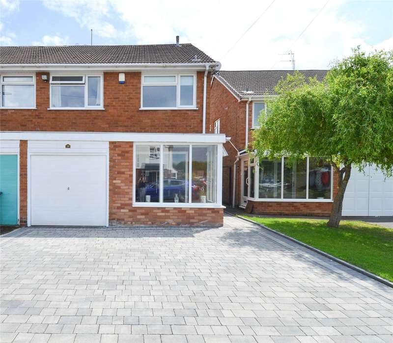 3 Bedrooms Semi Detached House for sale in Sherwood Close, Birmingham, West Midlands, B28