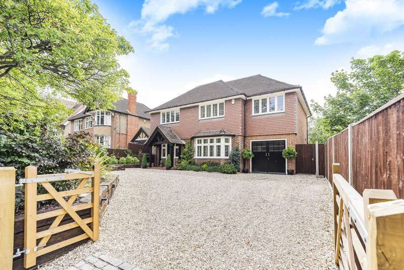4 Bedrooms Detached House for sale in Shinfield Road, Reading