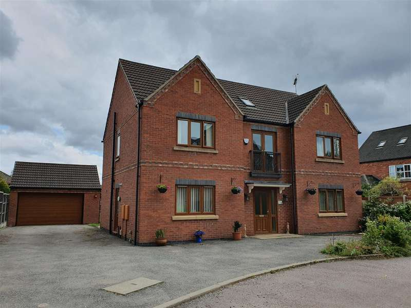 6 Bedrooms Detached House for sale in Jubilee Court, West Hallam, West Hallam