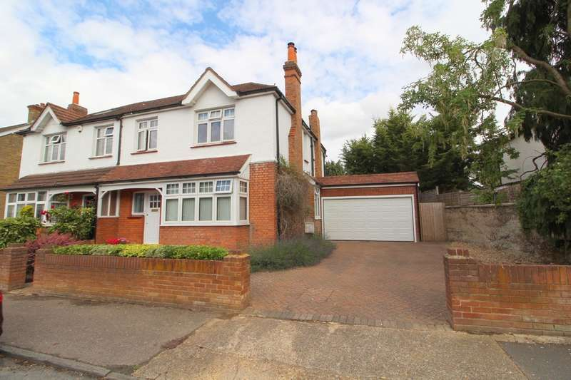 4 Bedrooms Semi Detached House for sale in Albert Road, Ashford