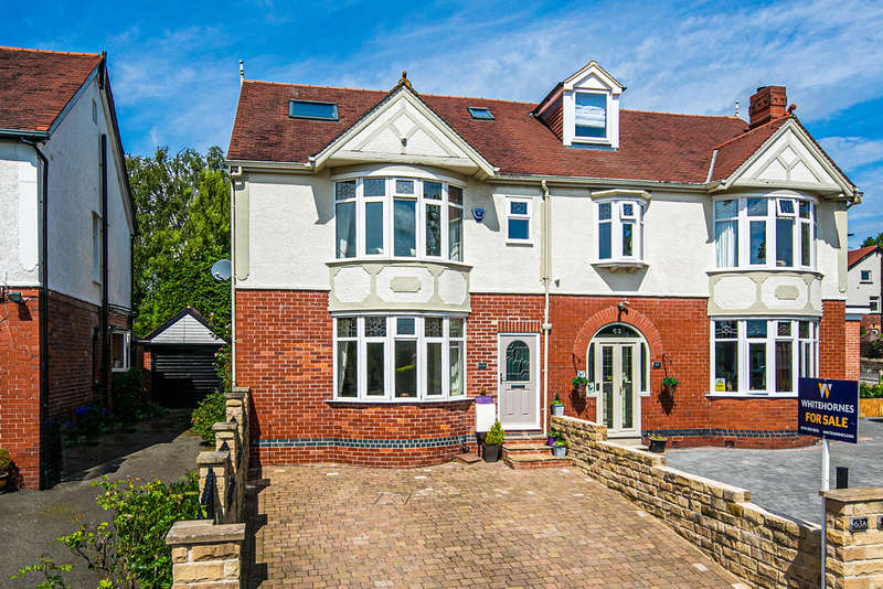 4 Bedrooms Semi Detached House for sale in Whirlowdale Crescent, Whirlowdale