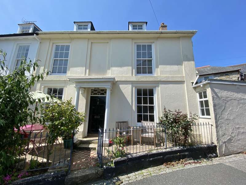 4 Bedrooms Semi Detached House for sale in Morrab Place, Penzance