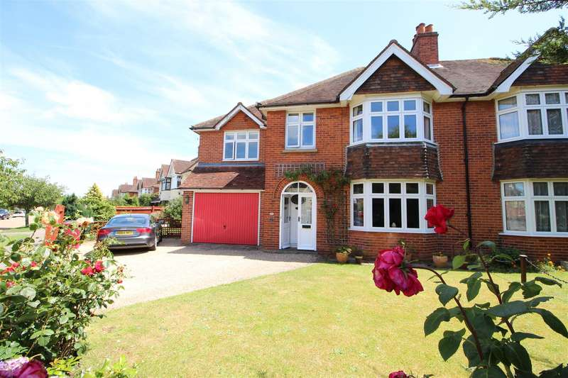 4 Bedrooms Semi Detached House for sale in Kenilworth Avenue, Reading