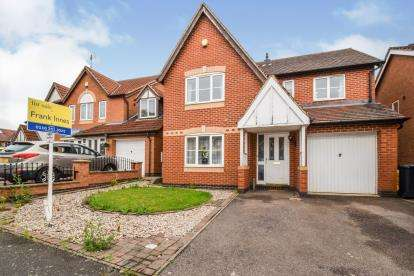 4 Bedrooms Detached House for sale in Allerton Drive, Leicester, Leicestershire