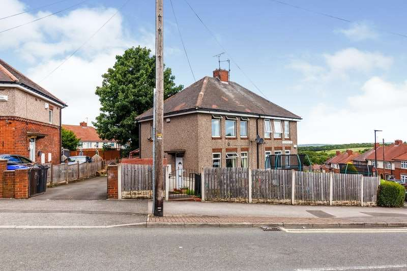 3 Bedrooms Semi Detached House for sale in Nodder Road, Sheffield, South Yorkshire, S13
