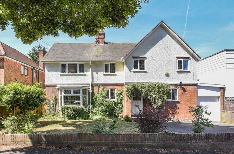 4 Bedrooms Detached House for sale in Northcourt Avenue, Reading