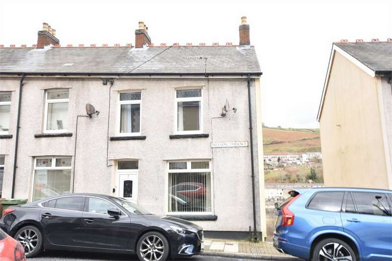 2 Bedrooms End Of Terrace House for sale in Nelson Terrace, Brithdir, New Tredegar, Caerphilly