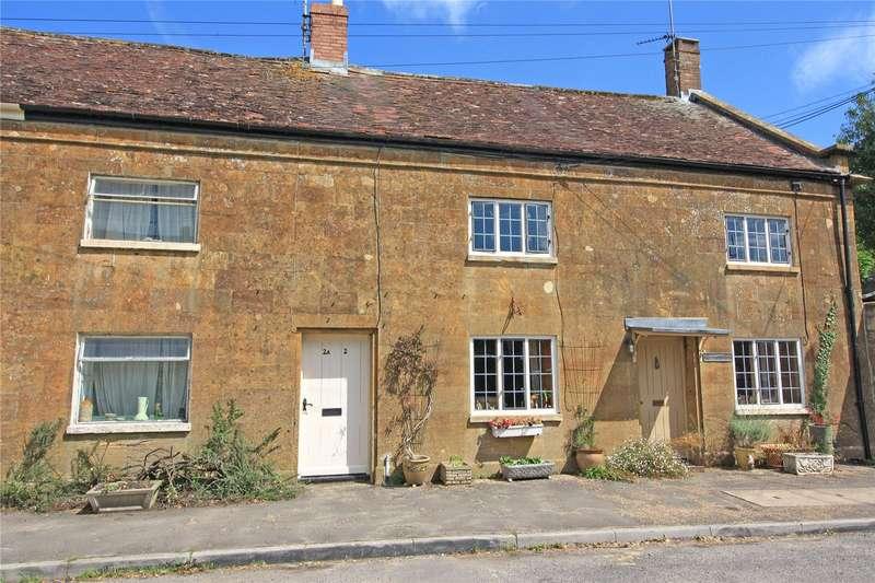 3 Bedrooms Terraced House for sale in Merriott Road, Hinton St. George, Somerset, TA17