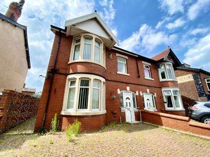 3 Bedrooms Semi Detached House for sale in Whitegate Drive, Blackpool, Lancashire, FY3