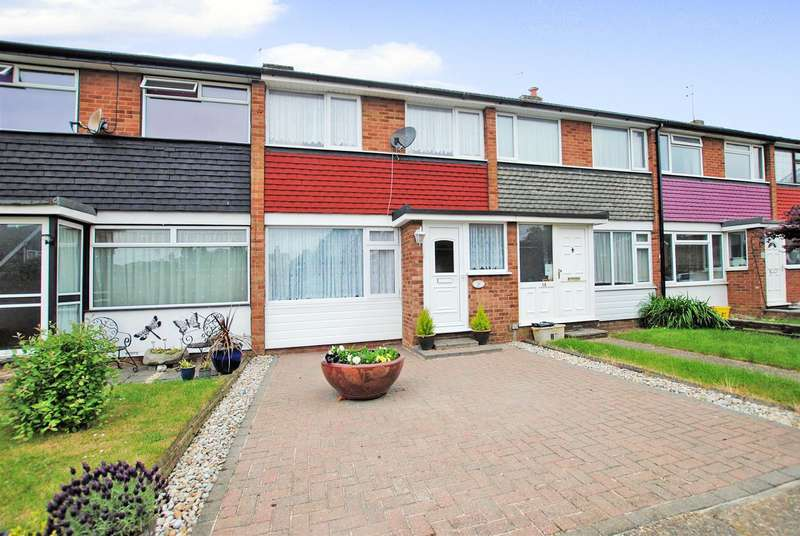 2 Bedrooms Terraced House for sale in Willow Walk, Hadleigh