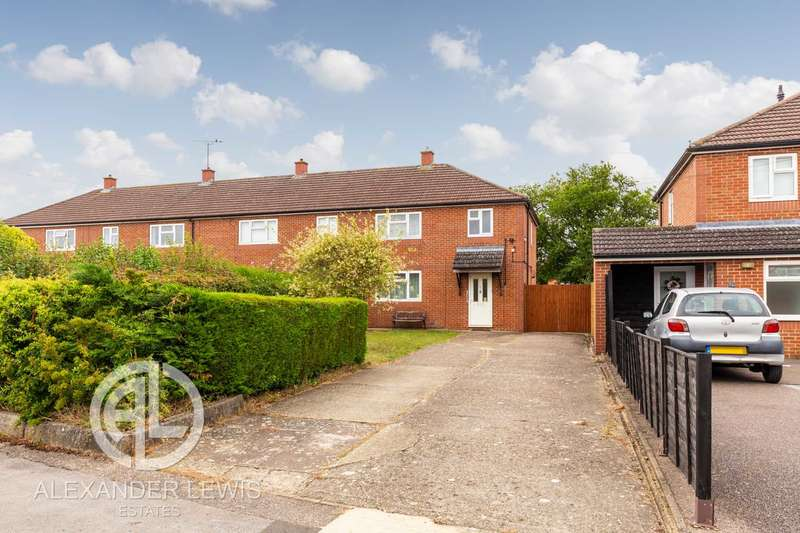 3 Bedrooms End Of Terrace House for sale in Stoneley, Letchworth Garden City, SG6 4QY