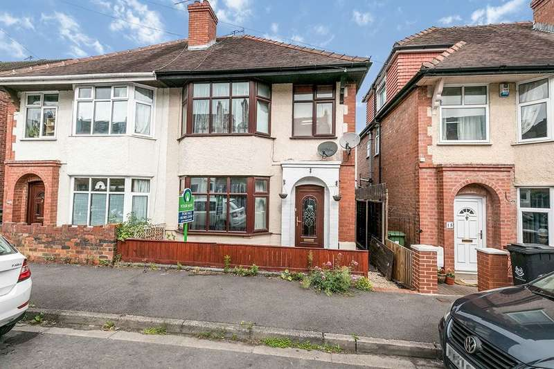 3 Bedrooms Semi Detached House for sale in Woolhope Road, Worcester, WR5