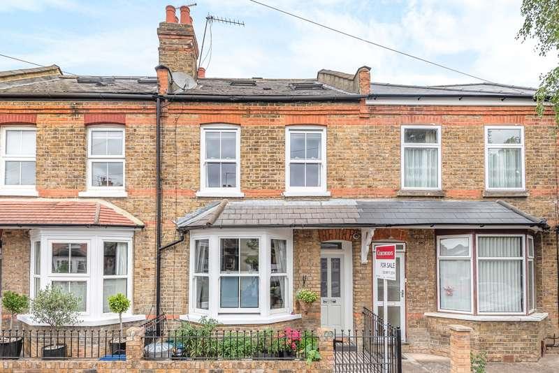 3 Bedrooms Terraced House for sale in Somerset Gardens, Teddington, TW11