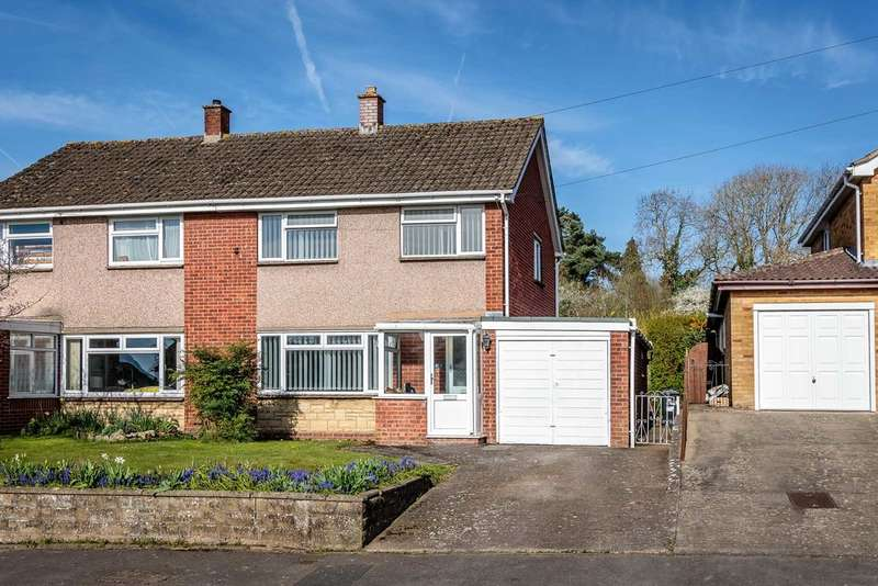 3 Bedrooms Semi Detached House for sale in Templeway West, Lydney