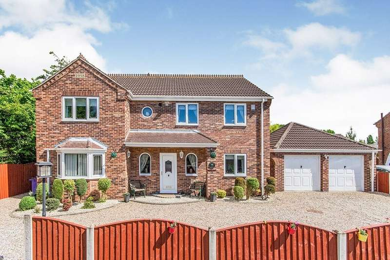 4 Bedrooms Detached House for sale in Orchard Close, Eggborough, Goole, DN14