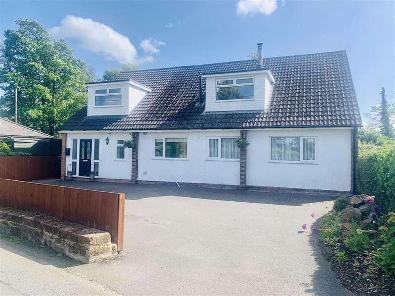 4 Bedrooms Detached House for sale in Burton Road, Rossett, Wrexham