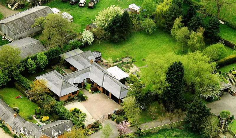 4 Bedrooms Detached Bungalow for sale in Smeeton Road, Saddington