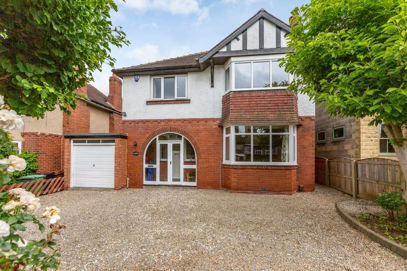 4 Bedrooms Detached House for sale in Lynton Avenue, Boston Spa, Wetherby, LS23